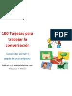 100 TARJETAS PARA TRABAJAR LA CONVERSACIÓN.pdf