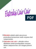7.Ekstraksi Cair Cair, Padat Cair