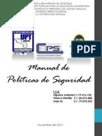 Manual de Políticas de Seguridad