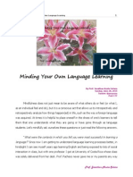 Minding Your Own Language Learning