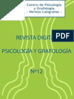 Revista Psicologia Grafologia 12