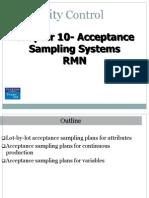 Acceptance Sampling (1)