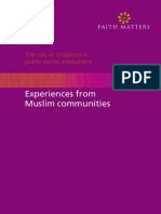 Muslim Experience in the Public Sector