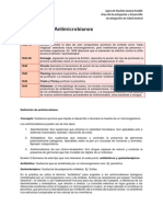 Antibioticos y Antimicrobianos