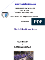 Sesion 04 Gobierno y Gobernabilidad