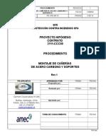 PR-OPE-MT-001 Montaje de Cañería de Acero Carbono y Soportes