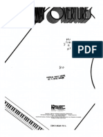Broadway Overtures for Piano, Vol 1
