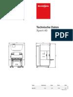 Xpert 40 Datasheet Deu Original
