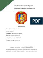 Informe de Elaboración de Encurtidos