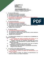 Solucionario Test N° 7 Conceptos de costos y análisis financiero