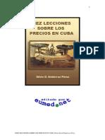 Control de Precios en Cuba Socialista