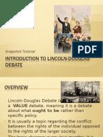 LD Debate Intro