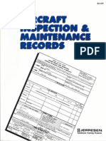 Aircraft inspection and Maintenance records