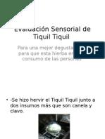 Evaluación Sensorial de Tiquil Tiquil.pptx