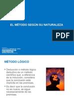 Clase 3 Metodo Segun Su Naturaleza