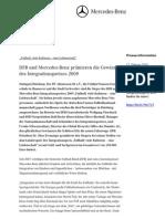 DFB und Mercedes-Benz prämieren die Gewinner des Integrationspreises 2009