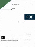 The Auger Hole Method - W. Van Beers 1983