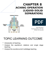 Chapter 8 - Leaching Operation