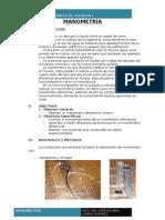 Informe N°2 El Manómetro 2015-I