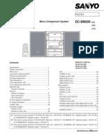 Combina Sanyo Service Manual