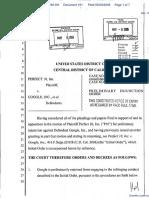 Perfect 10 Inc v. Google Inc et al - Document No. 161