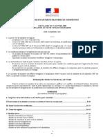 PaCS Consulats Français à l'étranger - circulaire 19 janvier 2008