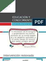 Educación y Conocimiento
