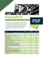 AutoPIPE Version Comparison
