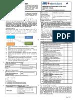 NO 6 Product Disclosure Sheet IDSB