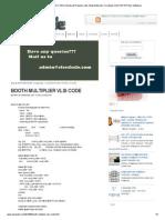 BOOTH MULTIPLIER VLSI CODE _ ElecDude_Projects-Jobs-Study Materials-CircuitLab-VLSI-DSP DIP-Elec Softwares