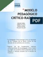 Modelo Pedagógico Crítico-radical