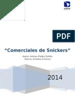 Análsis de Discurso de SNICKERS