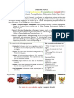 Call for Paper TICA 2013 New