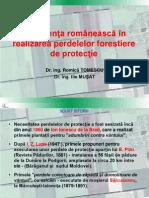 3. Experienta Romaneasca in Realizarea Perdelelor Forestiere de Protectie