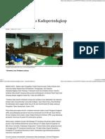 Hakim Vonis Bebas Kadisperindagkop Atam - Serambi Indonesia