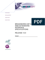 Broadsoft BroadWork SIP