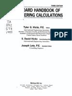 Standard Hanbook of Engineering Calculations.pdf