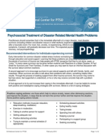 Psychosocial Treatment (1)