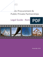 Legal Guide Romania Public Procurement and PPP