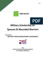 HR Block 2016 MSEP Program
