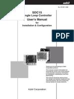 SDC15 Installation & Configuration