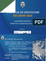 Strategia Dezv Bucuresti 2035