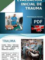EVALUACION INICIAL DE TRAUMA.pptx