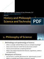 Lectures 1-9 History and Philosophy of Science and Technology
