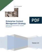 Enterprise Content Management Strategy