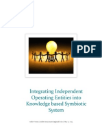 Integrating Independent Operating Entities Into Knowledge Based Symbiotic System