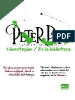 Peter Pan liburutegian -- Peter Pan en la biblioteca