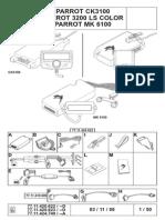 Schema Renault Scenic pentru car kit oem