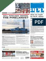 Asbury Park Press front page Monday, June 29 2015