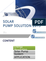 Solar Pump Solution 2015